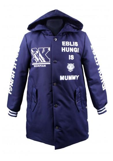 Демисезонное пальто с капюшоном Skorpian SK-WM2093