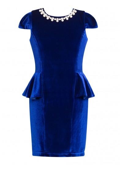 Элегантное платье-футляр Perlitta PRA051605
