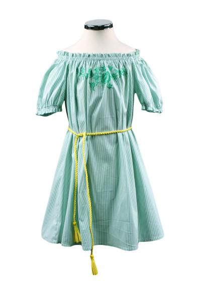 Платье с вышивкой Deloras 29334