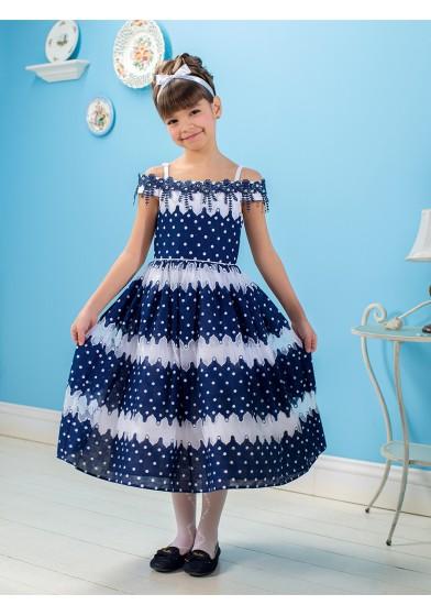 Великолепное платье для летних праздников Perlitta