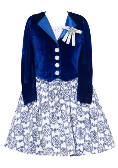 Комплект (топ, юбка, жакет) Perlitta PRGt051604