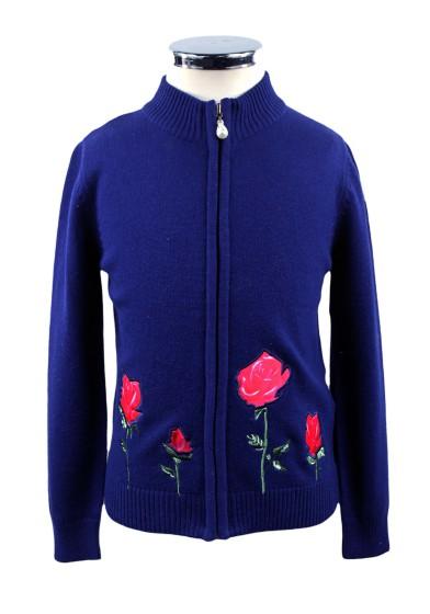 "Джемпер ""Роза на ветке"" Deloras 17258"