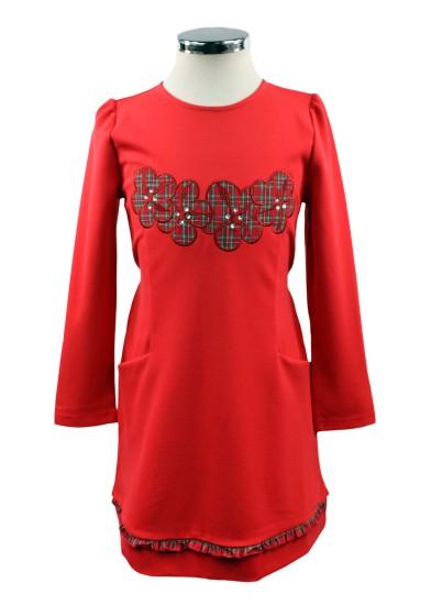 Платье с аппликацией - 1 Deloras 17205