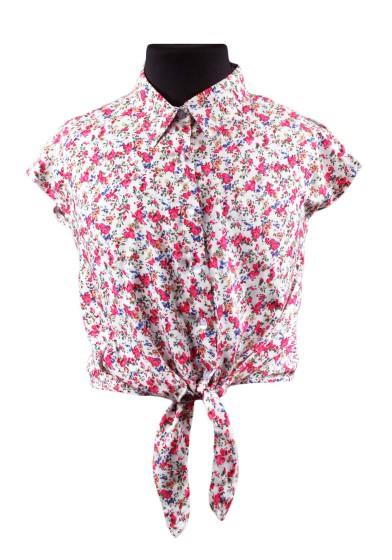 Рубашка в мелкий цветочек Deloras