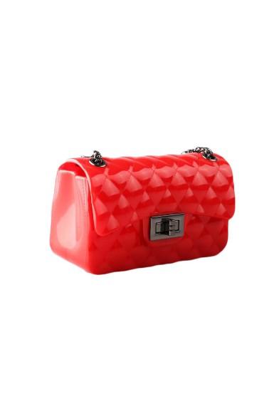 Силиконовая сумочка с цепочкой Vitacci
