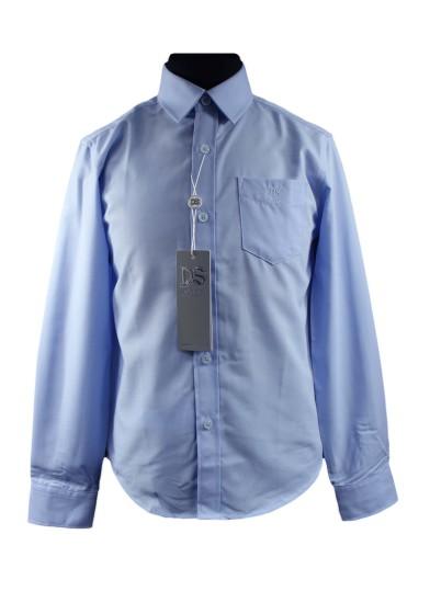 Однотонная рубашка Deloras 70201