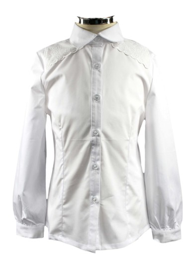 Блузка с оригинальной вышивкой Deloras 60864