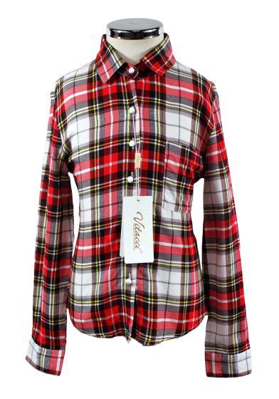 Рубашка в клетку Vitacci 2172094