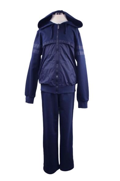 Спортивный костюм с болоньевыми вставками Deloras 70406