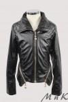 Стильная кожаная куртка 26104