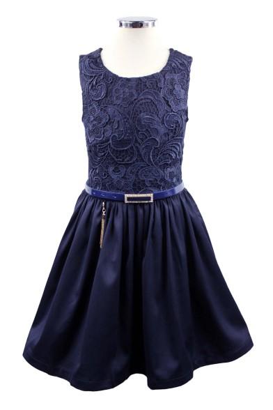 Платье-сарафан с кружевом Olimpia 182138
