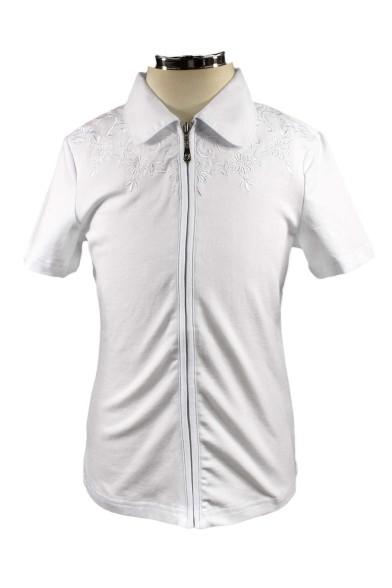 Блузка с вышивкой Deloras 61075S