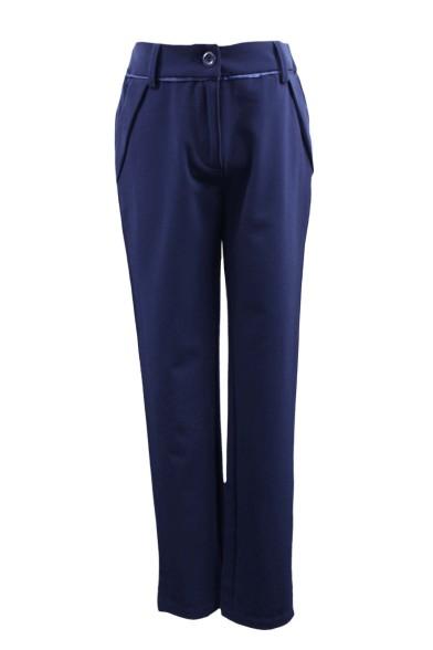 Классические брюки из текстильного полотна Deloras 60908