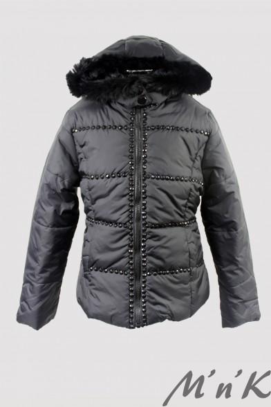 Куртка, декорированная мерцающей фурнитурой 8120801 Vitacci 8120801