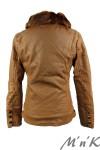 Утепленная кожаная куртка - 2