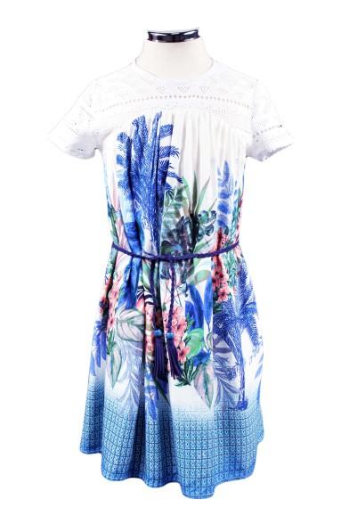 Платье свободного кроя Deloras 29360