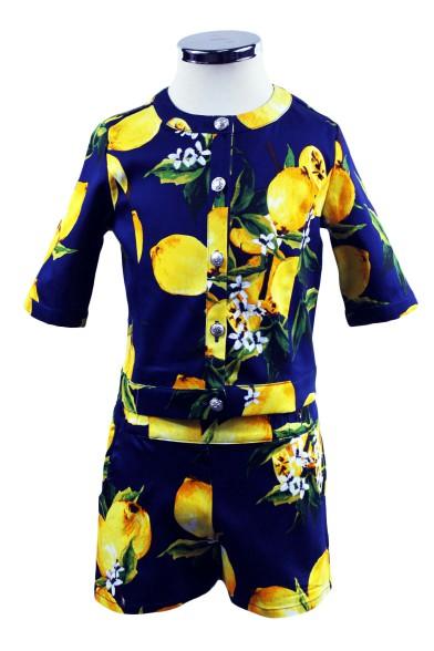"""Костюм """"Лимонное настроение"""" Deloras 17503-17501"""