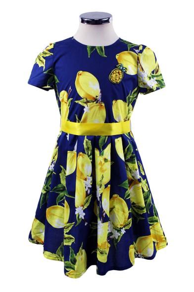 """Платье """"Лимонное настроение"""" Deloras 17500"""