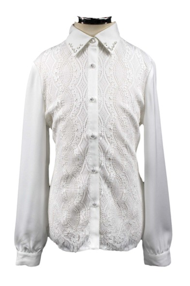 Блузка с кружевом Deloras 61113