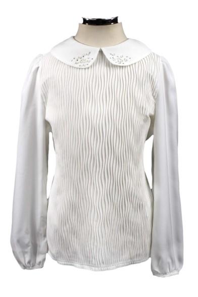 Блузка с отложным воротником Deloras 61115