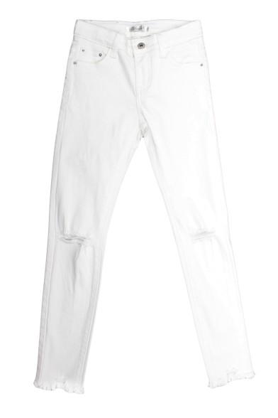 Белые джинсы со стрейчем Vitacci 2172192