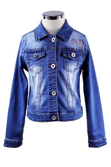 Приталенная джинсовка Vitacci 2172165