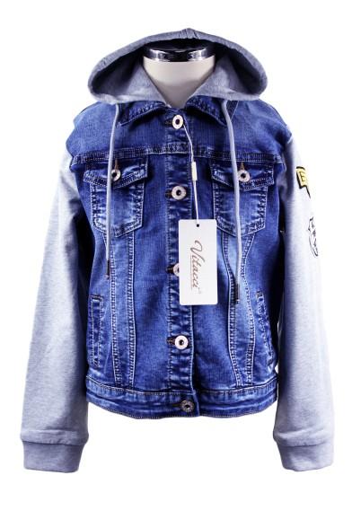 Комбинированная джинсовка Vitacci 1172113