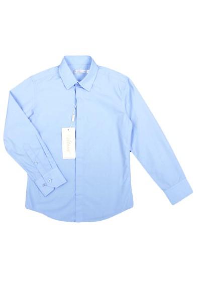 Классическая голубая рубашка Vitacci