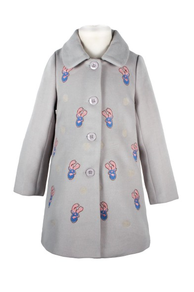 Пальто с вышивкой Vitacci