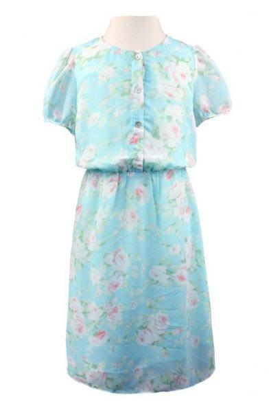Шифоновое платье Vitacci