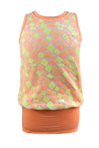 Мини-платье без рукавов Deloras