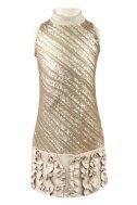 Очаровательное облегающее платье, декорированное пайетками