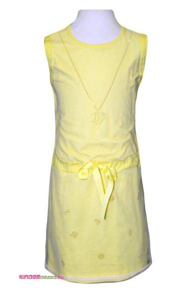 Платье, декорированное сеткой Deloras