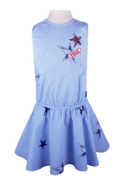 Платье с заниженной линией талии Deloras
