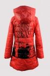 Стильное демисезонное пальто 14130