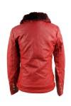 Утепленная кожаная куртка - 6