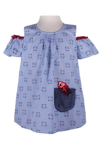 Блузка с открытыми плечами - 1 Deloras