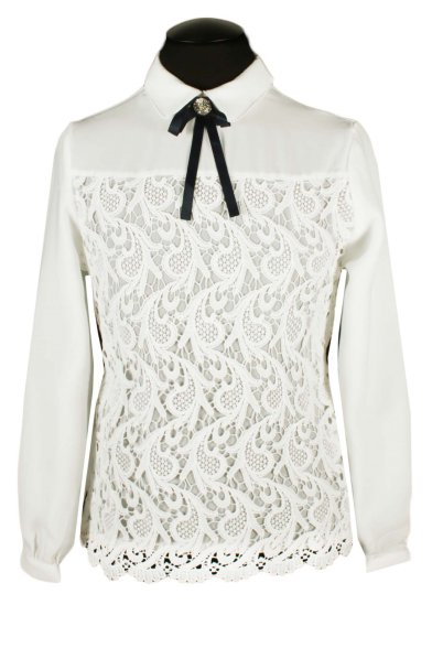 Блузка с кружевом Deloras