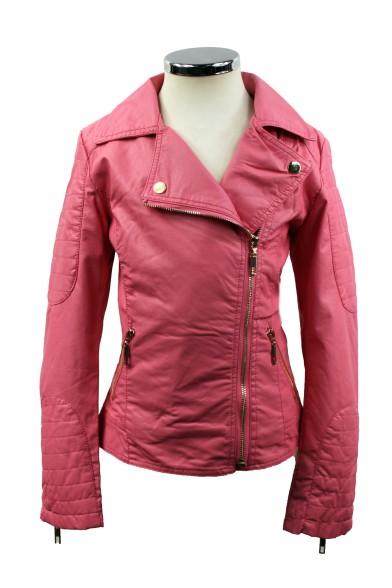 Модная кожаная куртка Olimpia