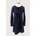 Практичное вязаное платье