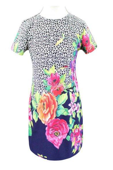 Платье оригинальной расцветки - 1 Deloras