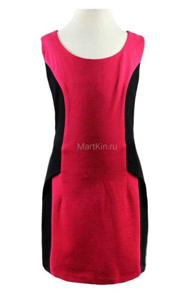 Коктейльное платье с вставками по бокам - 1 Vitacci