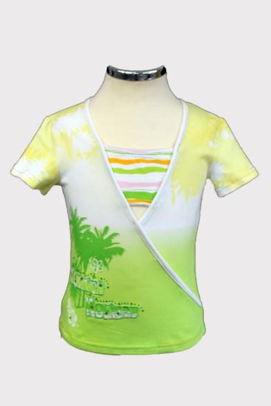 Яркая футболка 1099 Deloras