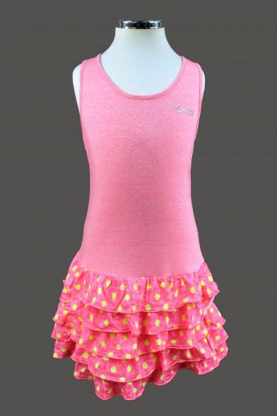 Летнее платье с заниженной линией талии Vitacci