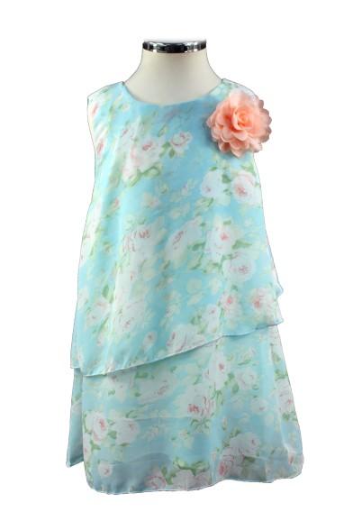 Шифоновое платье свободного кроя Vitacci 2152118-32