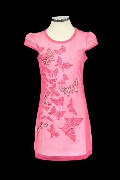 Платье-туника свободного кроя Deloras