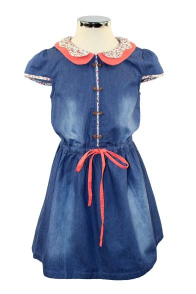Очаровательное джинсовое платье Vitacci