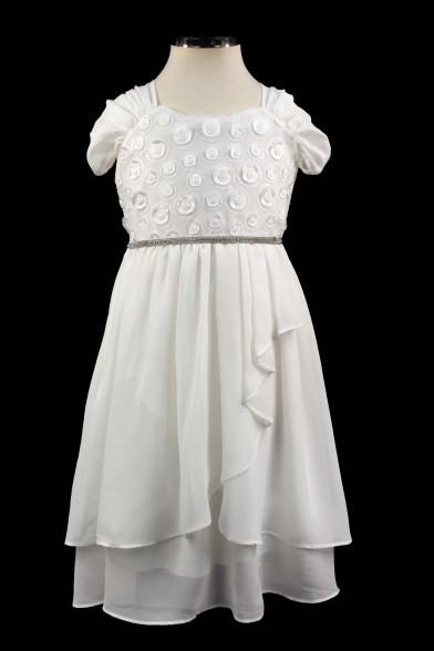 Очаровательное шифоновое платье Deloras
