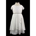 Очаровательное шифоновое платье