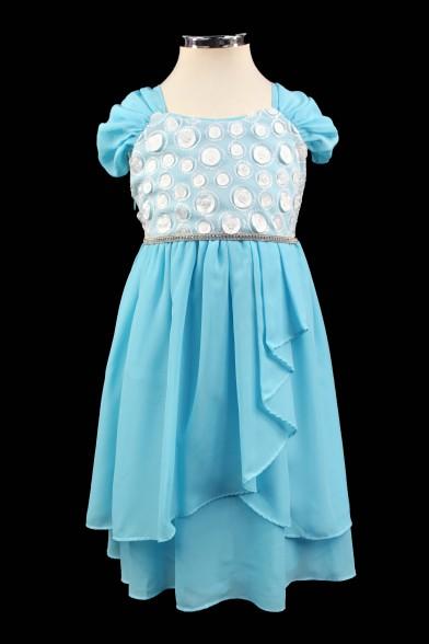 Очаровательное шифоное платье Deloras